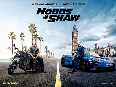 Poster Hobbs & Shaw